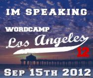 WordCamp LA Speaker Badge