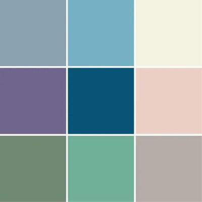 Tile sticker Unicoloured