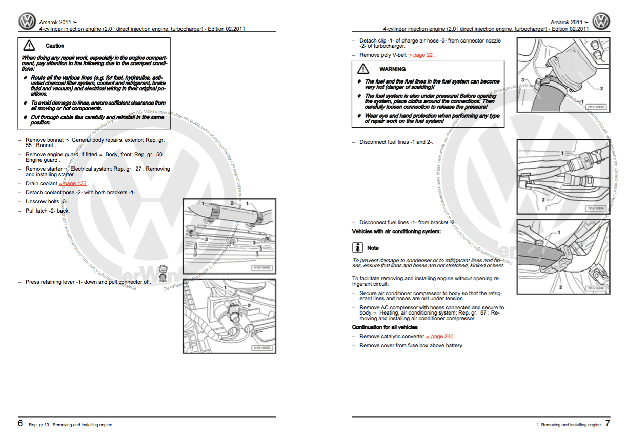 Vw Amarok Wiring Diagram