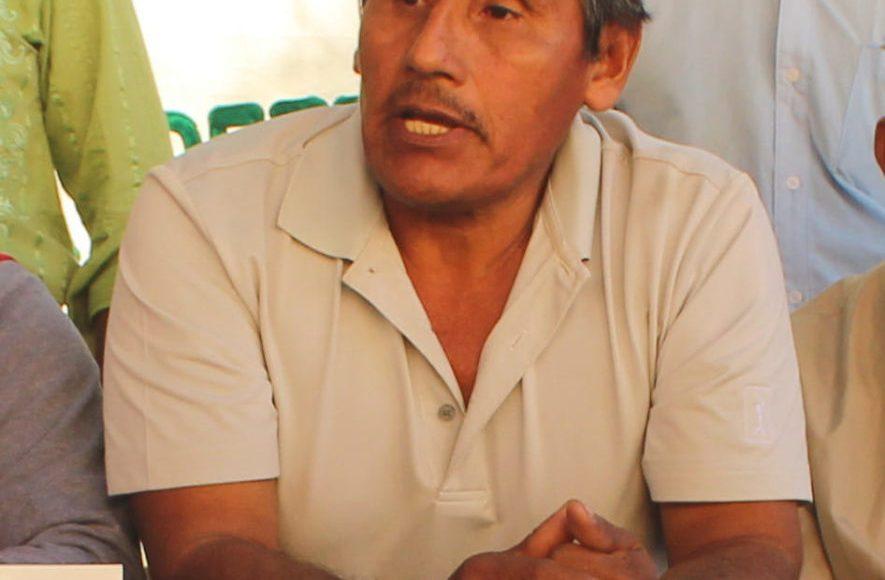 Jaime Jiménez Ruiz defensor ambiental Río Verde