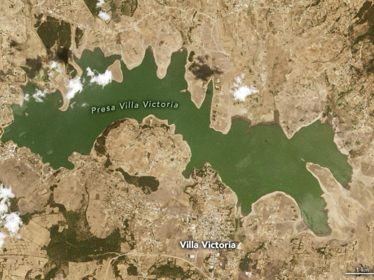 imágenes sequía en México