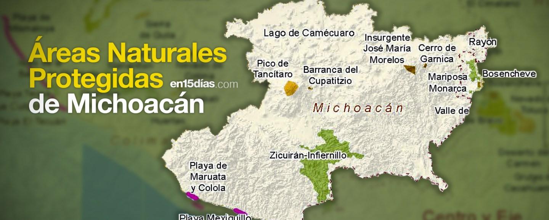 Áreas Naturales Protegidas Michoacán