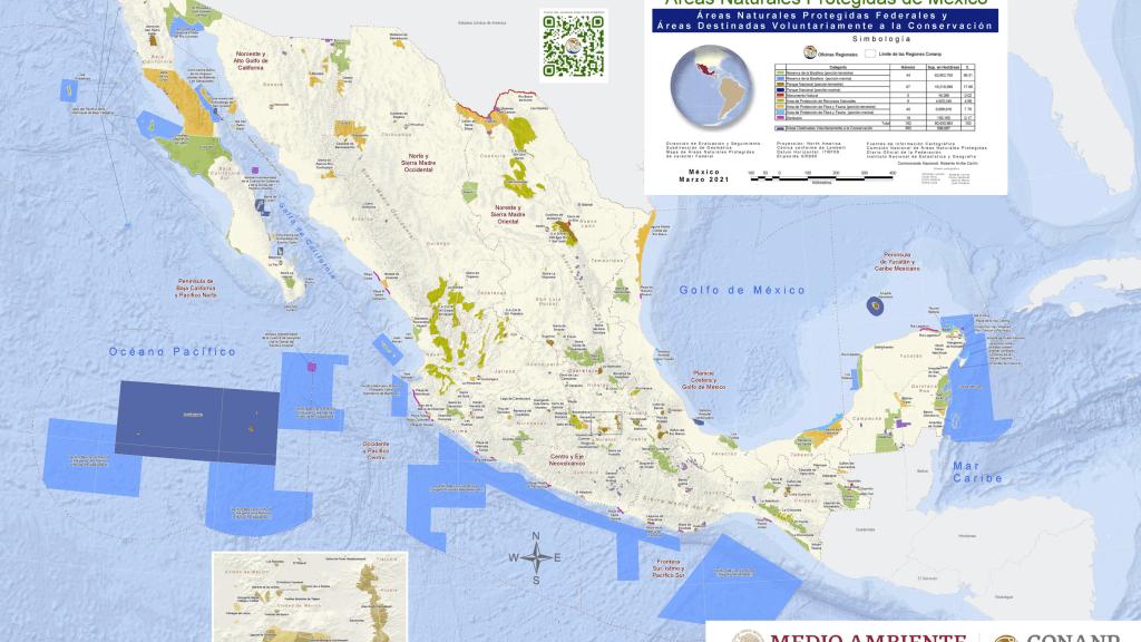 presupuesto asignado a las Áreas Naturales Protegidas de México