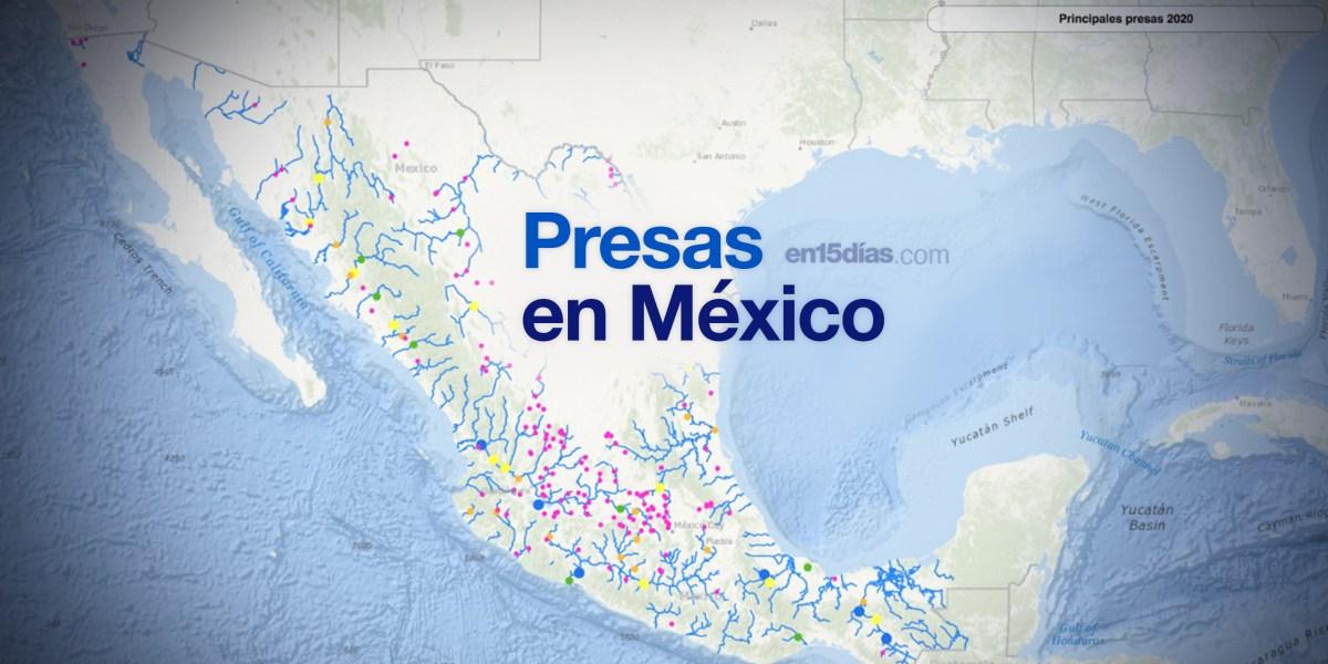 presas en México