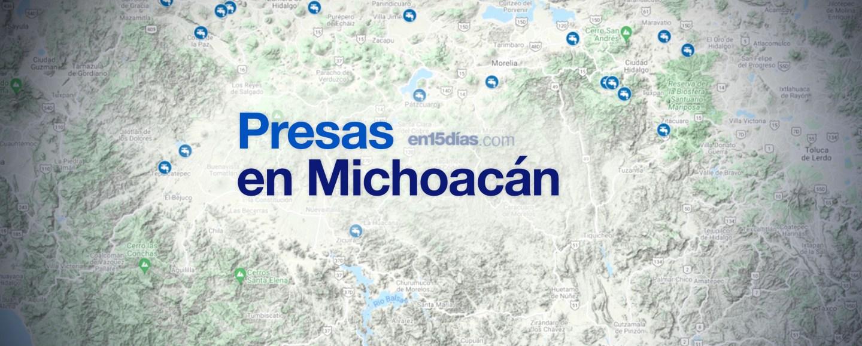 presas Michoacán