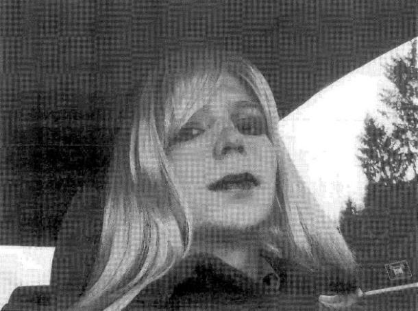 U.S. Army handout photo shows Chelsea Manning