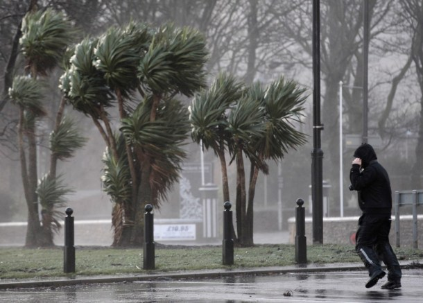 man-struggles-against-strong-winds-next-promenade-largs-west-scotland-wednesday