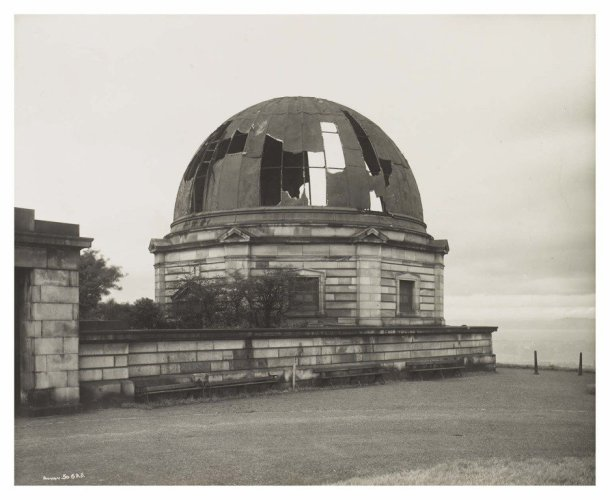 Old Observatory, Calton Hill, 1967