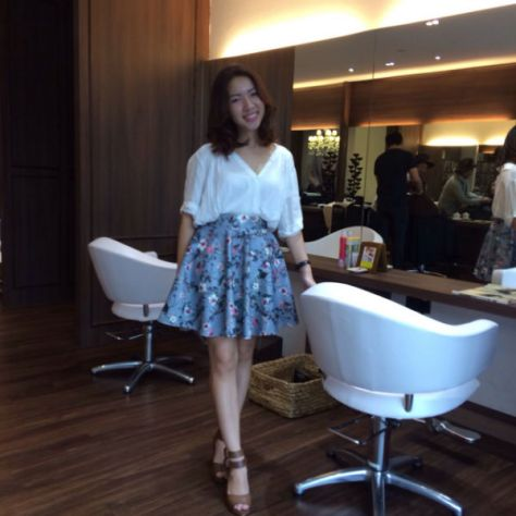Plaza Singapura Pamper Session Le Blanc By Mashu Salon Review Nanas Green Tea Lunch Review 028