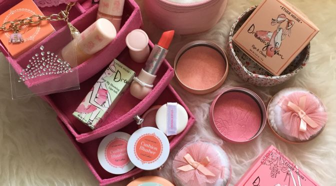 Ballerina Dreams with ETUDE HOUSE Dreaming Swan Collection only at Vivo City