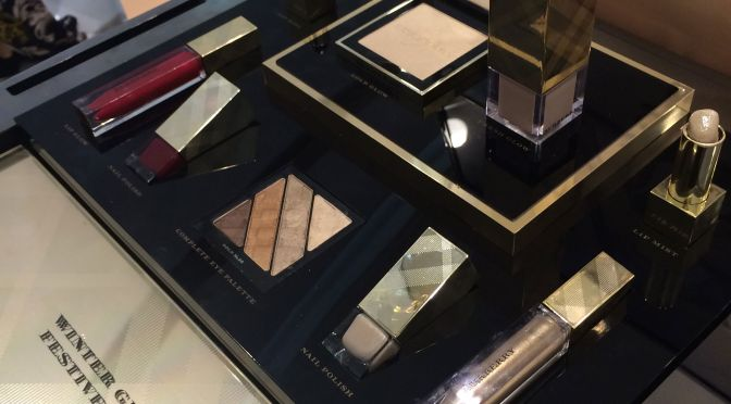Golds & Oxblood for Burberry's Winter Glow 2014 Collection