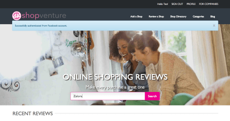 Shop Venture Website Review 002