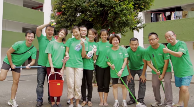 Project Facelift: Helpling lends a helping hand to Boon Lay residents