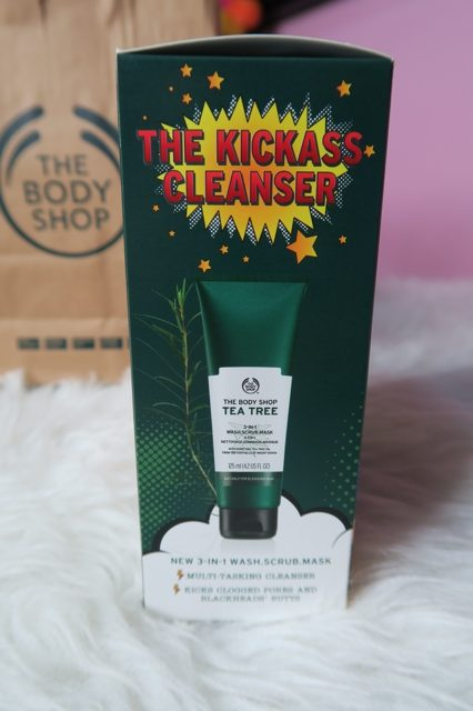 The Body Shop Tea Tree Wash Scrub Mask and Daily Solution Review Enabalista_0002