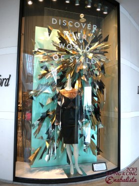 Lane Crawford SS'13 Window Display