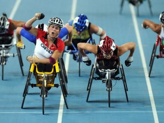 athletes with physical disabilities