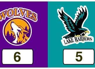 TPWHL Wolves vs Lake Raiders