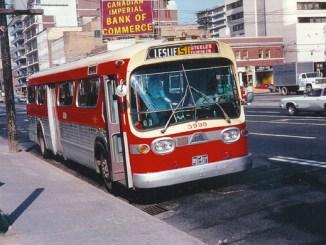 Classic TTC Bus