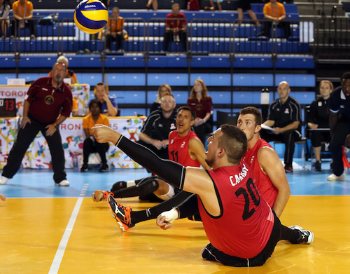 Sitting Volleyball Men's: Jesse Buckingham Overcoming Tragedy