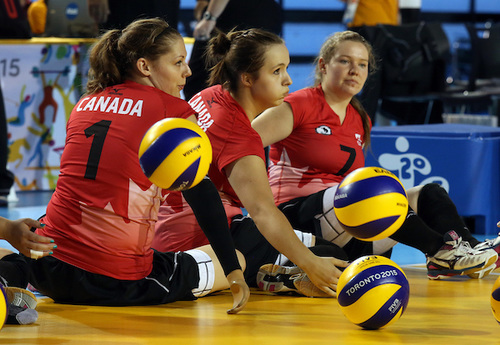 Sitting Volleyball Women's: First Time for Anne Fergusson