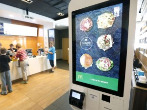McDonald's New Touch Screen