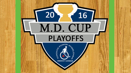 Toronto Power Wheelchair Hockey League – M.D. Cup Playoff Semi-finals Week 3 Recap