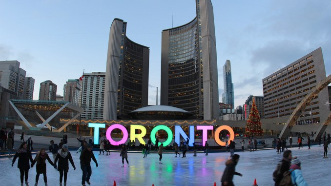 Toronto Light Sign