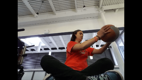 Fitness with Julie- (At the Gym) Medicine Ball