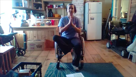 Fitness with Julie: Adapting Yoga to CHAIR YOGA!