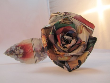 Single Comic Book Rose - Thor by Ena Green Designs £8