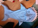 Shark Snuggle Bag by Ena Green Designs £50