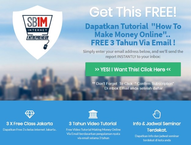free member sb1m Tempat Belajar Internet Marketing SB1M Samarinda 0896 1000 7713