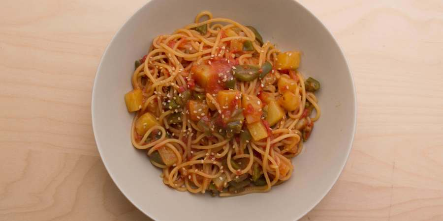 One pot pasta ananas