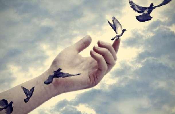 σουρεαλ πουλιά ελευθερία ιδέες