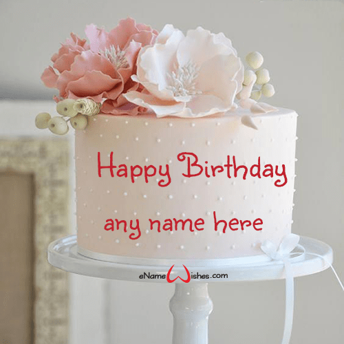 Birthday Cake For Best Friend With Name Edit Enamewishes
