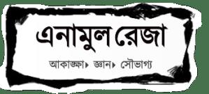 website banner for enamul rezas website