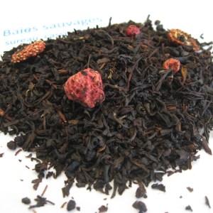Baies sauvages - ThBaies sauvages - Thé noir aromatisé fruits rouges et noirs - en aparthéé noir aromatisé - En aparthé