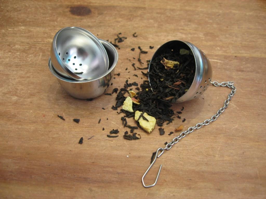 Boule à thé inox - en aparthé - boutique en ligne