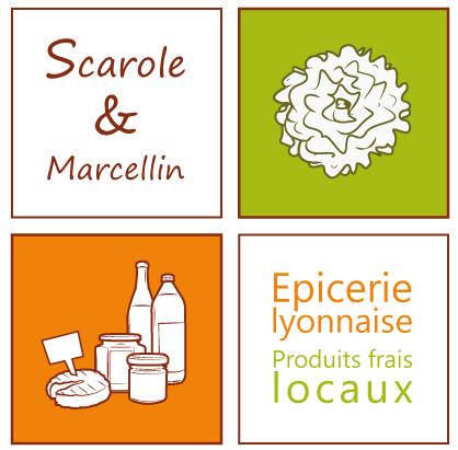 Scarole et Marcellin - Epicerie locale - Lyon - partenaire