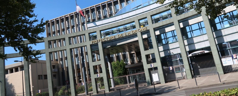 Photo de la préfecture de la Drôme