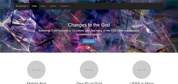 Slider - Best Bootstrap Templates 2014
