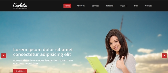 Corlate - Best Free Bootstrap Templates 2014