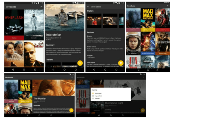 MovieGuide Android APP