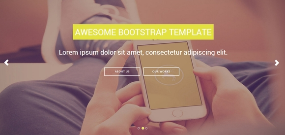 Shuffle - Best Free Bootstrap Templates 2014
