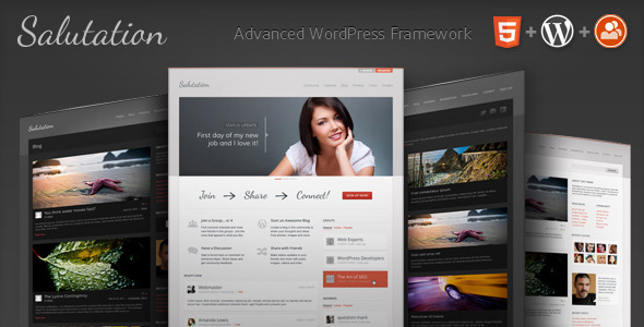 Collection of Best HTML5 WordPress Themes of 2012 5