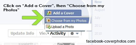 How to add a cover to your facebook profile