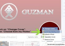 How to Add Cover Photo For Your Facebook Timeline Profile 2