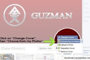 How to Add Cover Photo For Your Facebook Timeline Profile 4