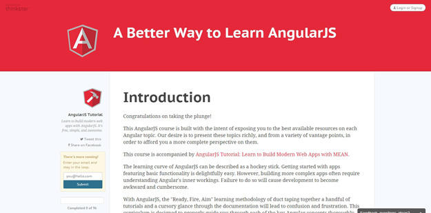 A Better Way to Learn AngularJS Thinkster