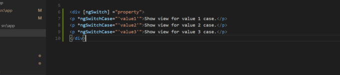 Syntax For NgSwitchCase Directive